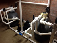 Pump and Filter Installation